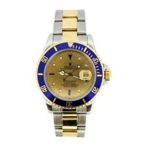 Vintage Rolex 16613 Submariner Gents Wristwatch