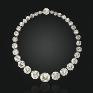Christies diamond RIVIÈRE NECKLACE Maharajas & Mughal Magnificence