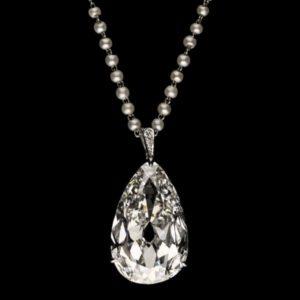 Hancocks 20.20ct Antique Pear Shaped Diamond TEFAF Maastricht 2020