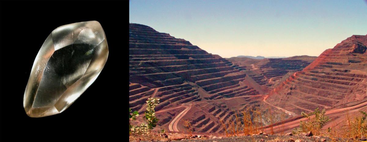 Catoca Mine and Diamond where are diamond found