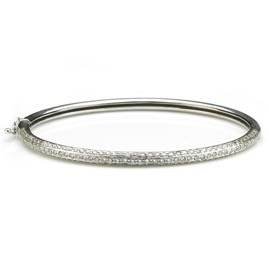 Diamond Set 1.70cts Bangle Bracelet
