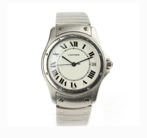 Cartier Santos Ronde 33mm Stainless Steel Automatic Watch