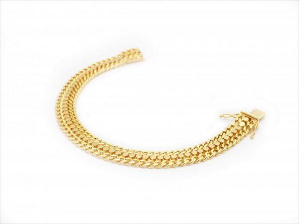 Vintage 1970s Warm Yellow Gold Bracelet