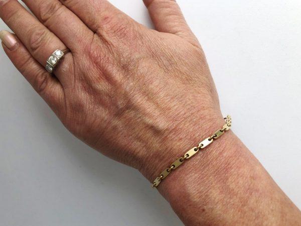 Cartier Link Bracelet in 18 Carat Yellow Gold