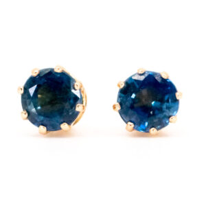 Sapphire 0.70ct Stud Earrings