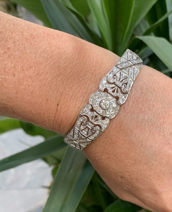 Deco diamond bracelet