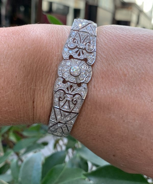 Art Deco 1930 Diamond bracelet