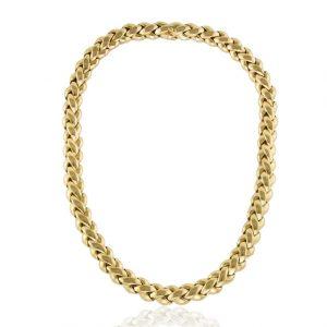 Vintage Van Cleef & Arpels 18 Carat Solid Gold Ladies Necklace, circa 1990s