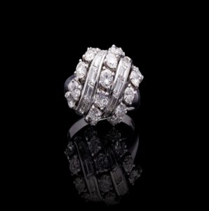 Vintage Van Cleef and Arpels Diamond Ring