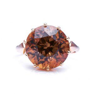 Vintage 15 Carat Zircon Ring