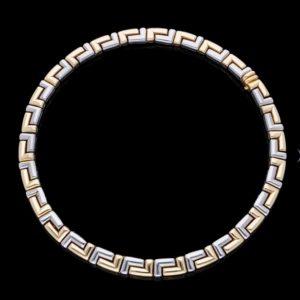 Vintage Bvlgari 18ct Gold Collar Necklace