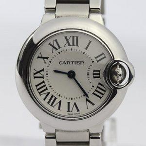 Cartier Ballon Bleu Ladies 28mm Stainless Steel Quartz Watch