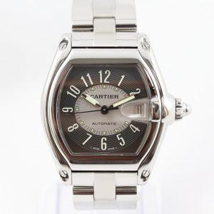Cartier Roadster 2510 Automatic 37mm Stainless Steel Bracelet Watch