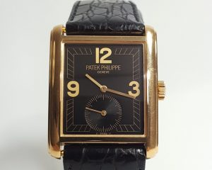 Patek Philippe 5014J Gondolo 18ct Yellow Gold 28mm Manual, Papers
