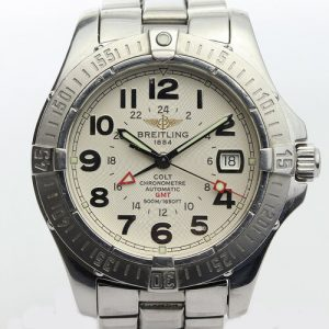 Breitling Colt GMT Gents 40mm Automatic Watch, With Papers
