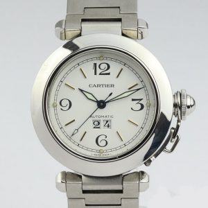 Cartier Pasha C Automatic 35mm Stainless Steel Wrist Watch