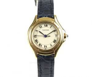 Cartier Cougar 18ct Yellow Gold 26mm Ladies, Small Model