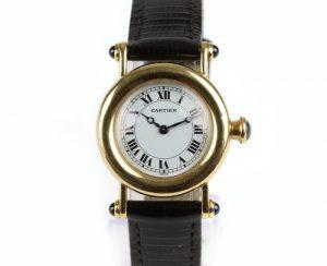 Cartier Diabolo 18ct Yellow Gold 27mm MidSize Quartz Watch