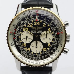 Breitling Navitimer Cosmonaute 41mm Steel and Gold Manual Watch