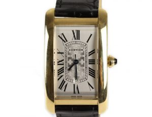 Cartier Tank Americaine Rare Limited Edition Large Model Automatic