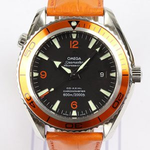 Omega Seamaster Planet Ocean 600M Orange Stainless Steel Automatic