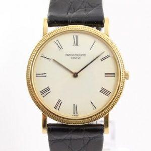 Patek Philippe 3520D Calatrava 18ct Yellow Gold 32mm Manual Watch