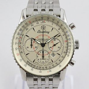 Breitling Navitimer A41330 Montbrillant 38mm Chronograph, with Papers