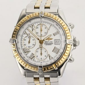 Breitling Crosswind Chronograph Gold and Steel 42mm Automatic Watch