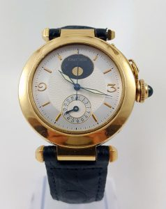Cartier Pasha 18ct Yellow Gold Night and Day 38mm Automatic Watch