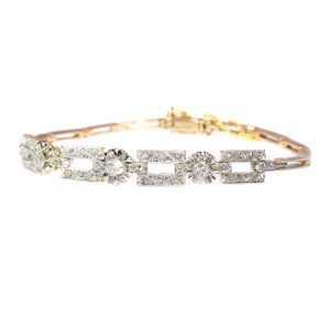 Vintage Art Deco Diamond Bracelet