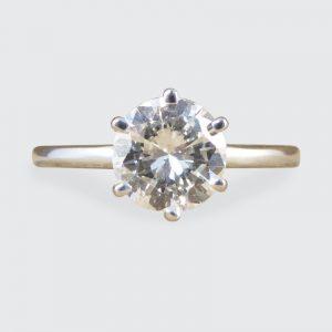 1.04ct Brilliant Cut Diamond Solitaire Ring