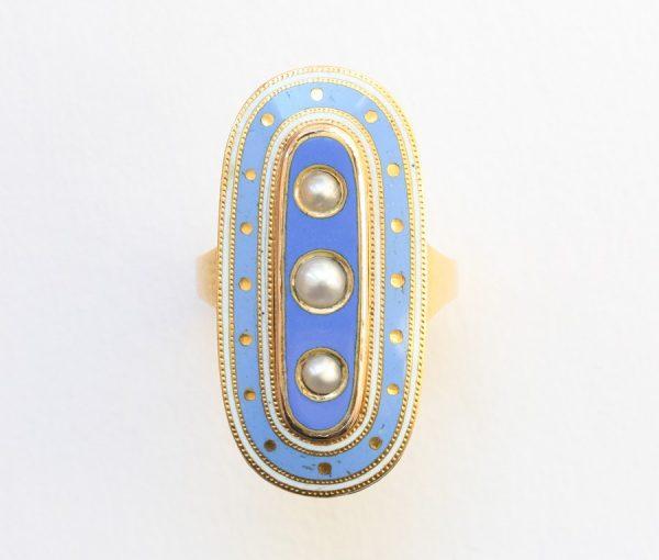 Antique Enamel Jewellery