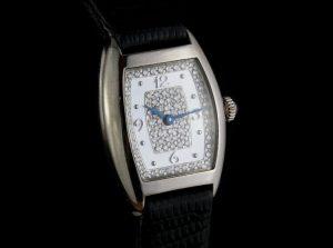 Franck Muller 18ct White Gold and Diamond 20mm Ladies Quartz Watch