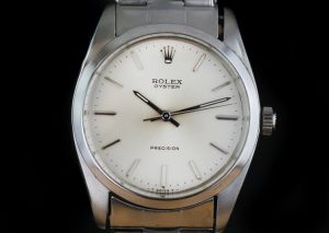 Rolex Oyster Precision 6424 Steel 34mm Manual, with Box and Papers