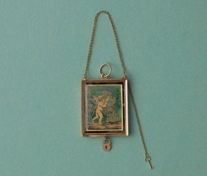 Early 19th Century 18ct Gold Angel Locket, Circa 1809-1810