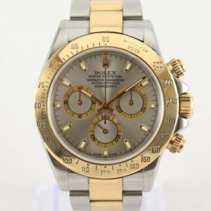 Rolex Daytona 116523 Automatic Steel and Gold Watch, Box and Papers