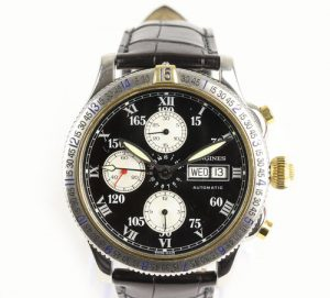 Longines Automatic Chronograph Special Series 42mm Steel Watch