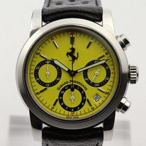Girard Perregaux Ferrari 8020 Yellow Dial Automatic Chronograph Watch