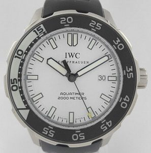 IWC Aquatimer 2000 Automatic Watch with Box and Papers
