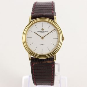 Vacheron Constantin Vintage 18ct Yellow Gold Quartz Watch, Circa 1990s