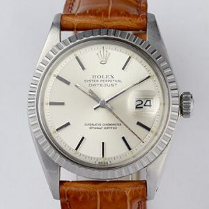Vintage 1970s Rolex Datejust 1603 Stainless Steel 36mm Automatic Watch