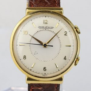 Jaeger LeCoultre Memovox Alarm Vintage 18ct Yellow Gold Manual Watch