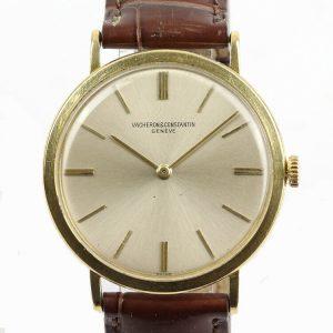 Vacheron Constantin Vintage Thin 18ct Yellow Gold Manual 1960s Watch