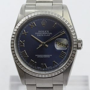 Rolex Datejust 16220 Stainless Steel Gents Watch with Oyster Bracelet