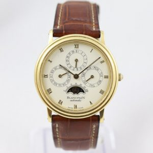 Blancpain Perpetual Calendar Moonphase 18ct Yellow Gold Automatic