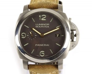 Panerai Luminor Marina Titanium 44mm Automatic with Box and Papers