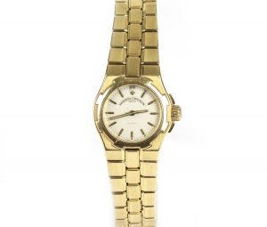 Vacheron Constantin Overseas Ladies 18ct Yellow Gold Bracelet Watch