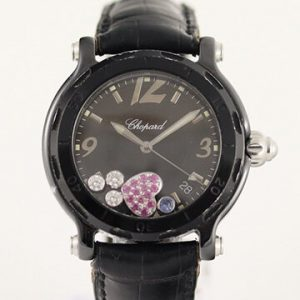 Chopard Happy Sport Ladies Watch with Original Diamonds and Box