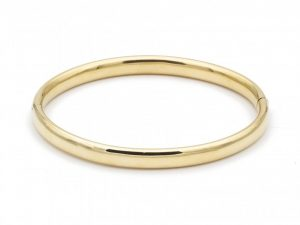 Vintage 14ct Yellow Gold Bangle Bracelet