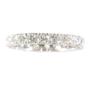 Vintage Diamond Full Eternity Band Ring